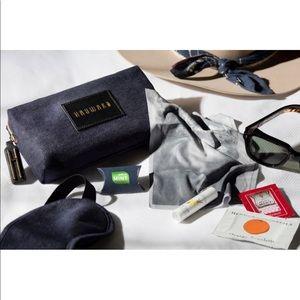 The Hayward Denim Make Up Bag Gift Set